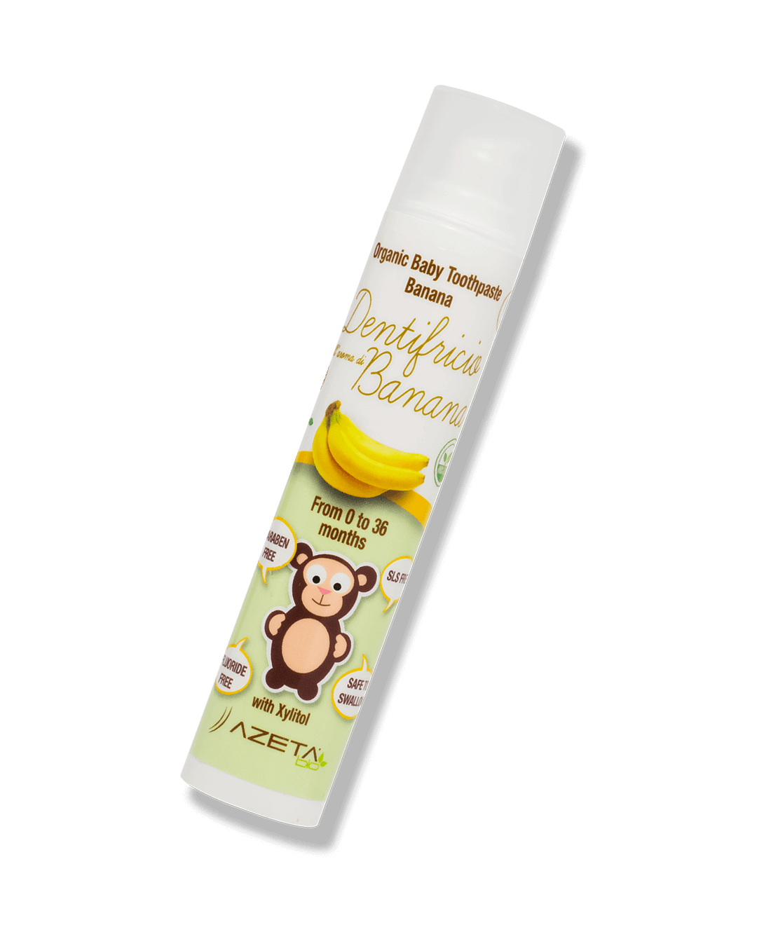 Organic Toothpaste Banana