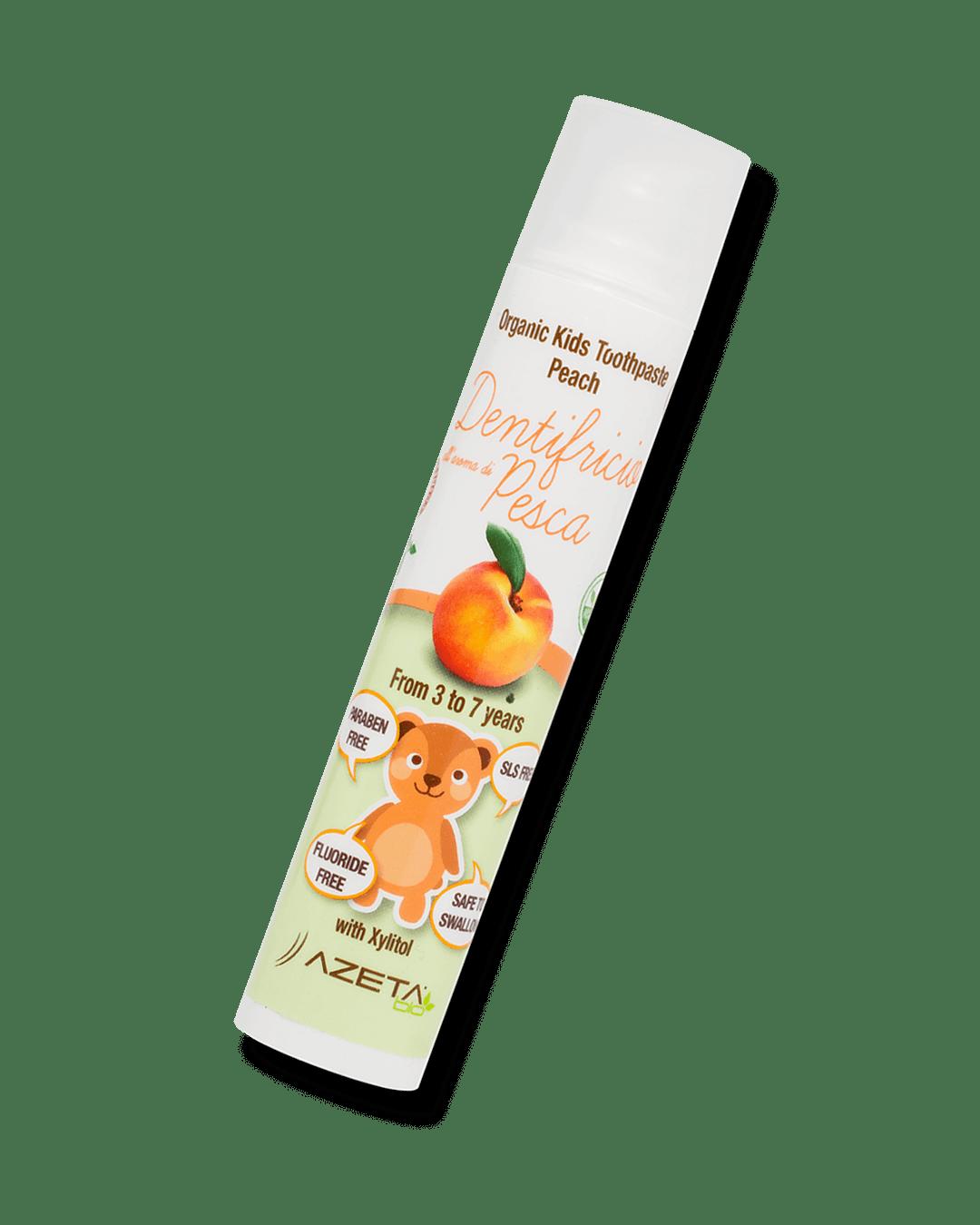 Organic Toothpaste Peach