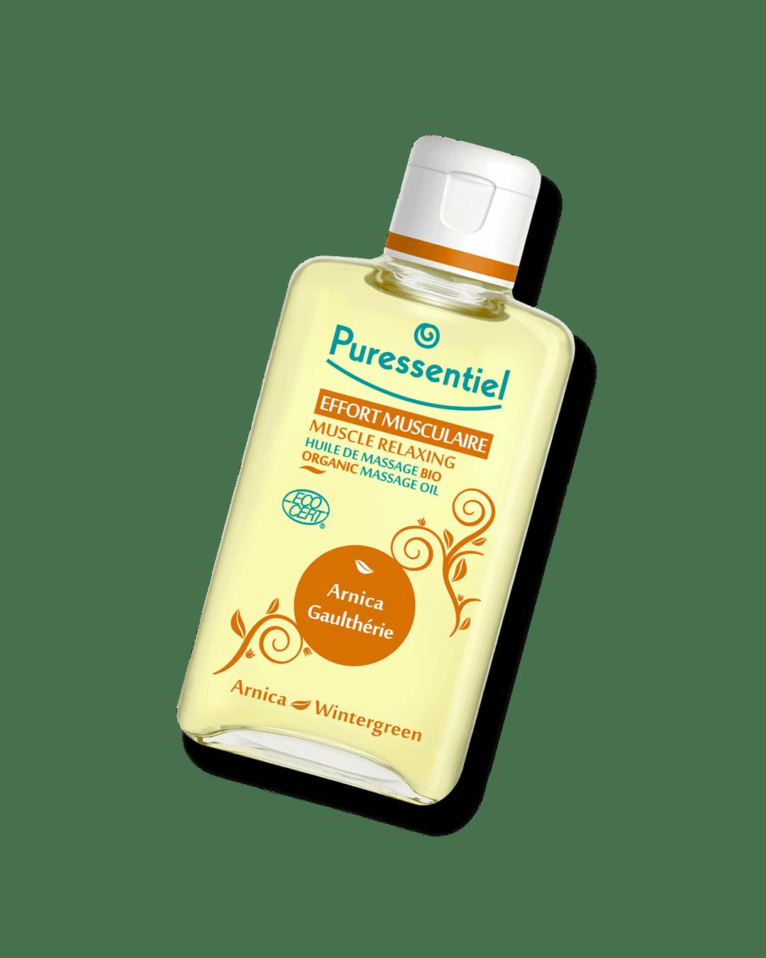 Bio masážní olej na svaly a klouby
