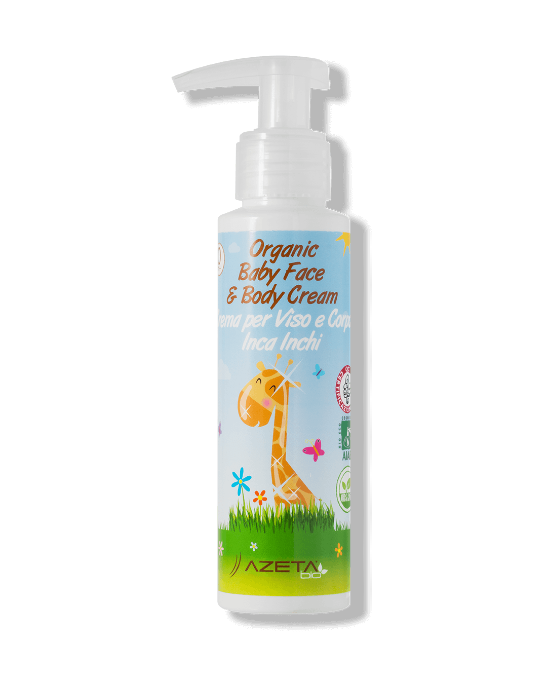 Organic Baby Face & Body Cream