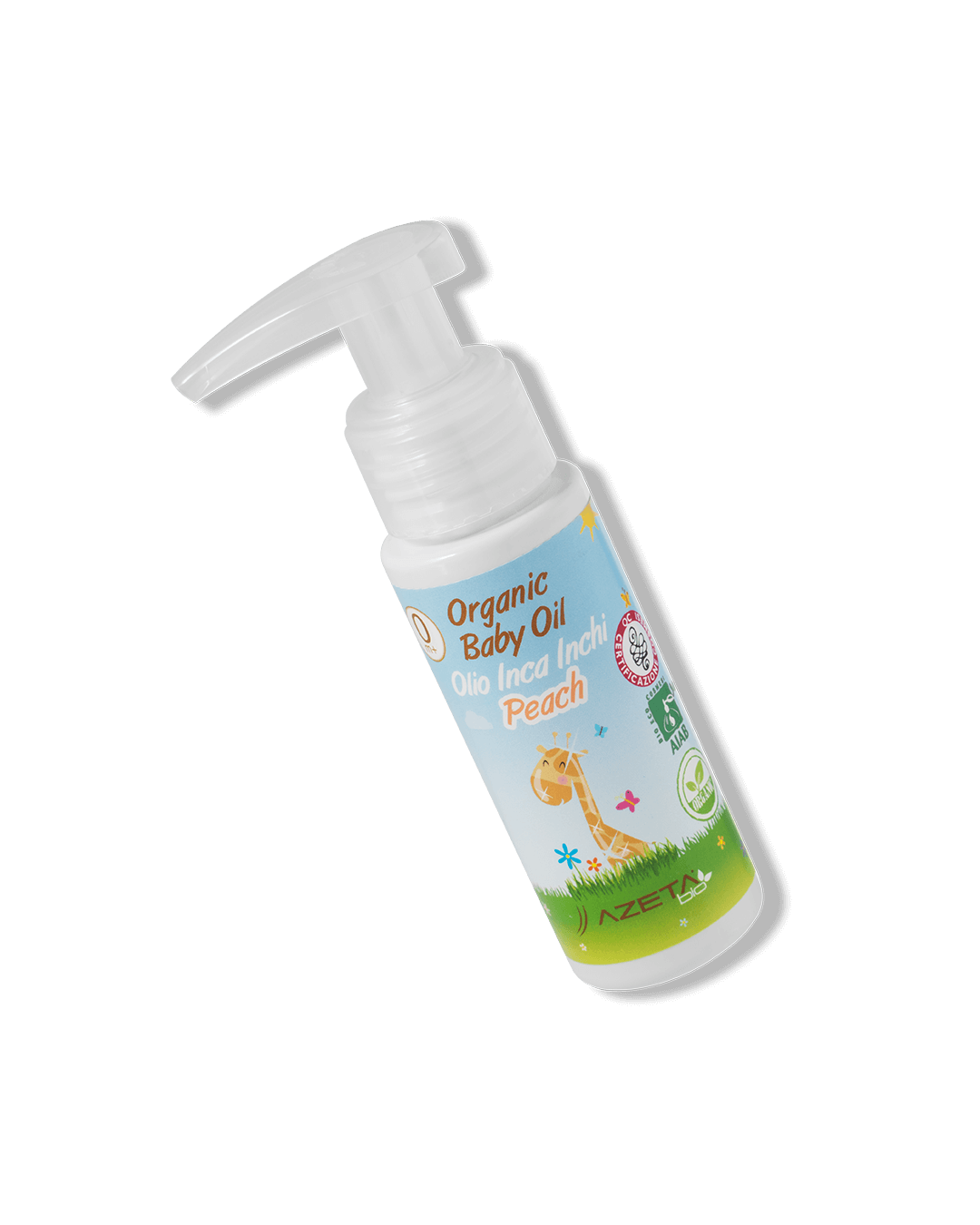 Organic Baby Oil Massage Peach