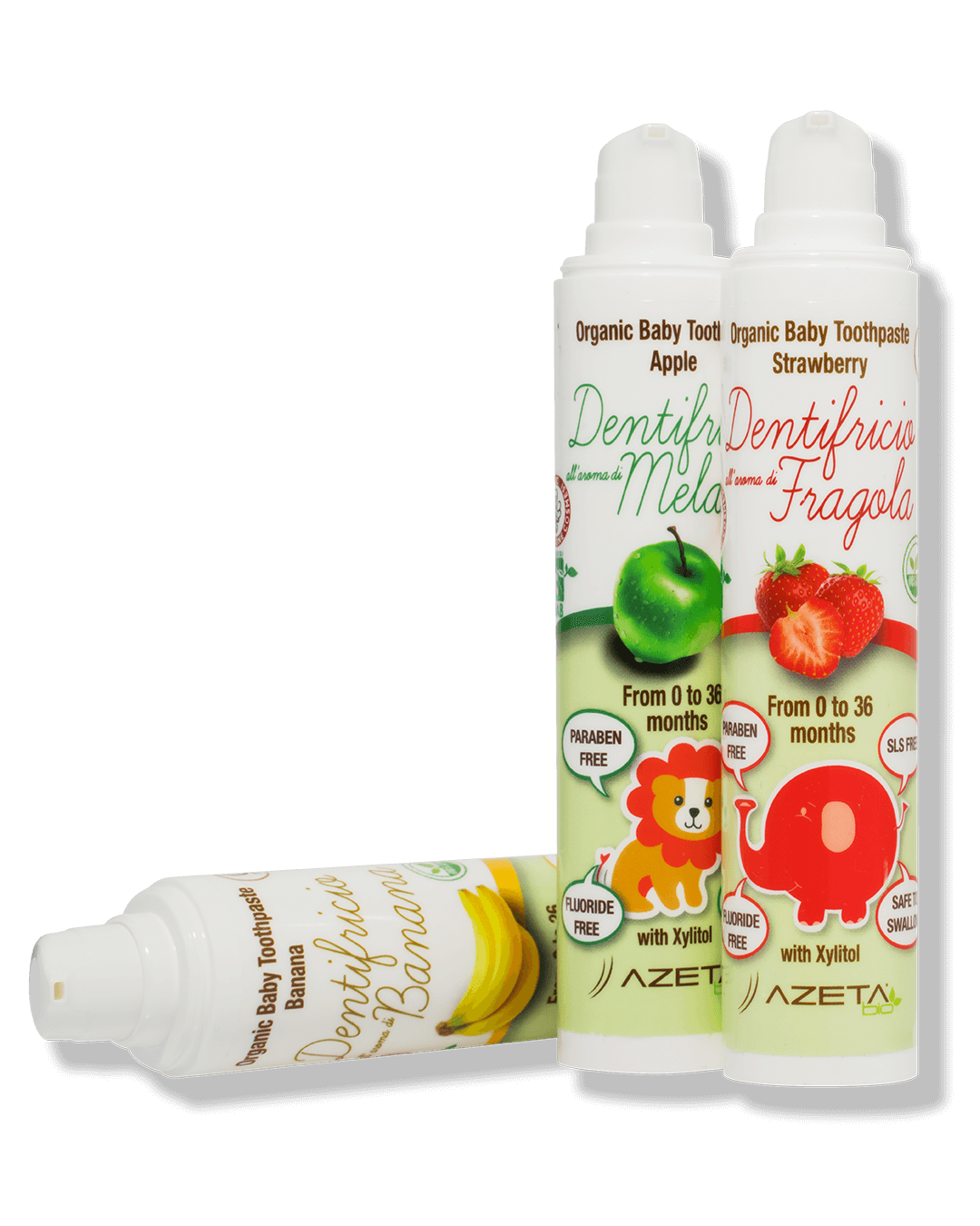 Organic Toothpaste Apple