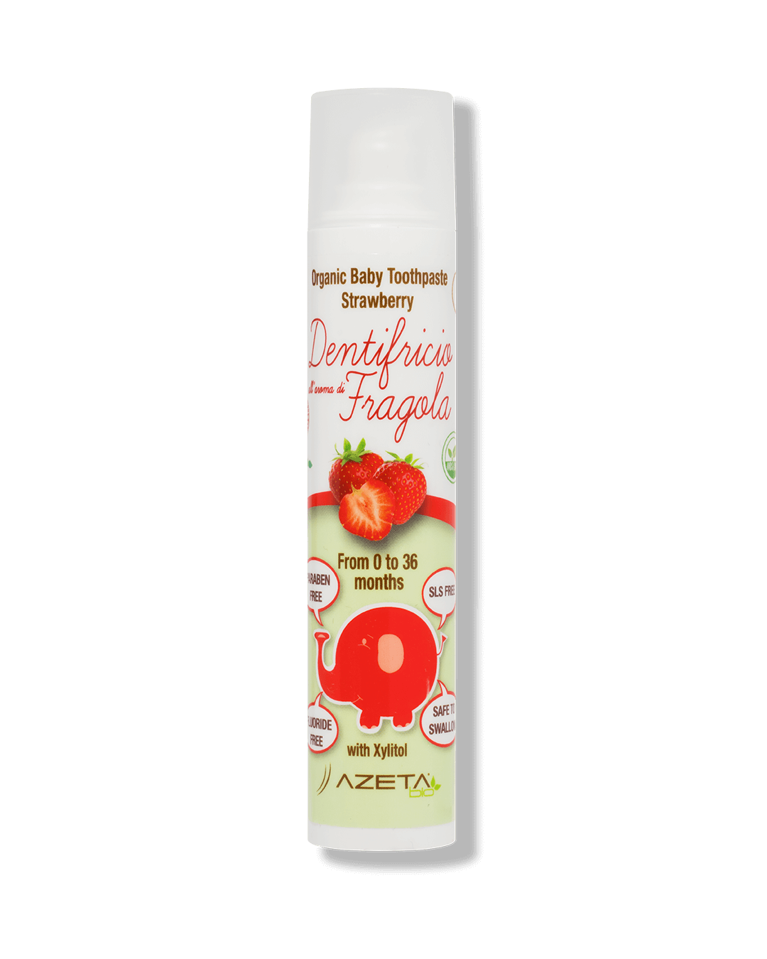 Organic Toothpaste Strawberry