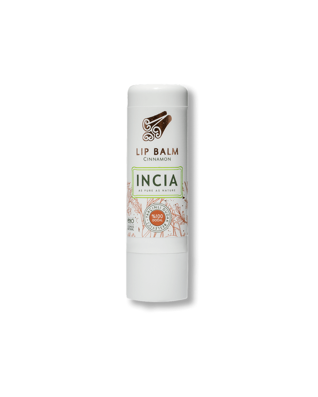 100% Natural Safe To Eat Lip Balm Cinnamon