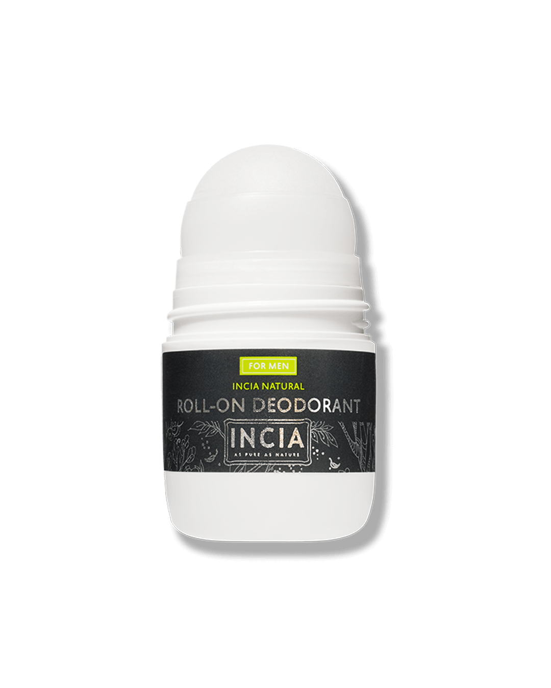 Natural Roll-On Deodorant For Men