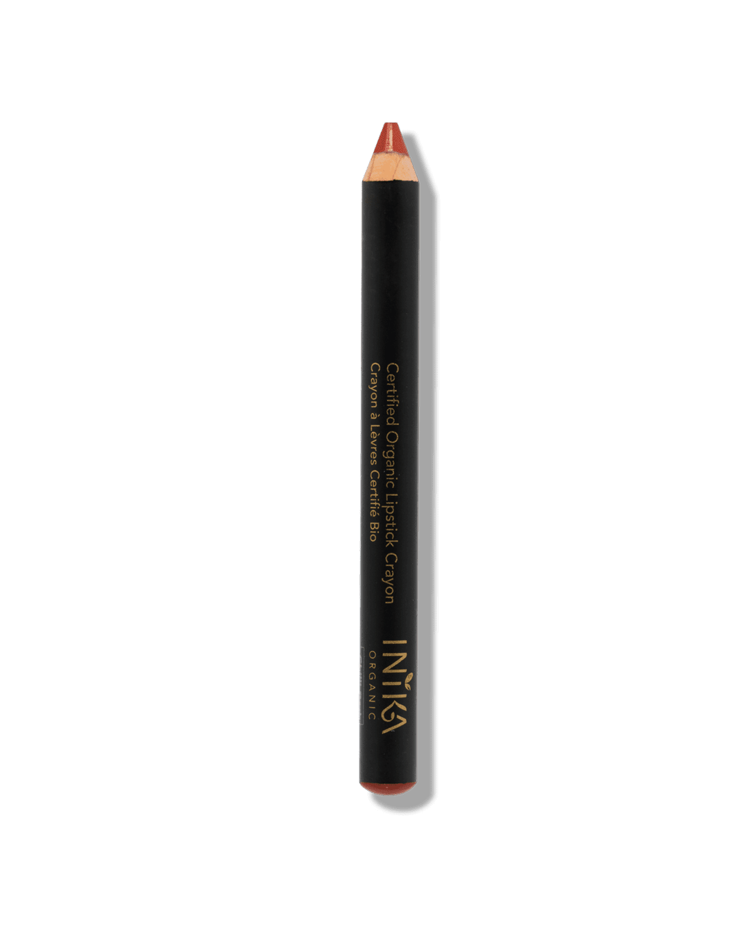 Certified Organic Lipstick Crayon Chilly Red