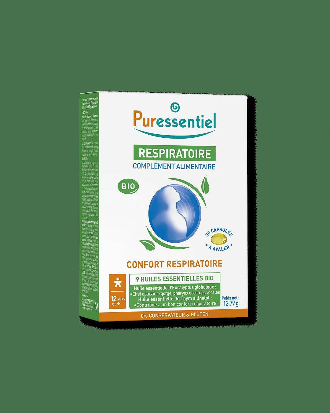Bio kapsle pro lepší dýchání a při nachlazení