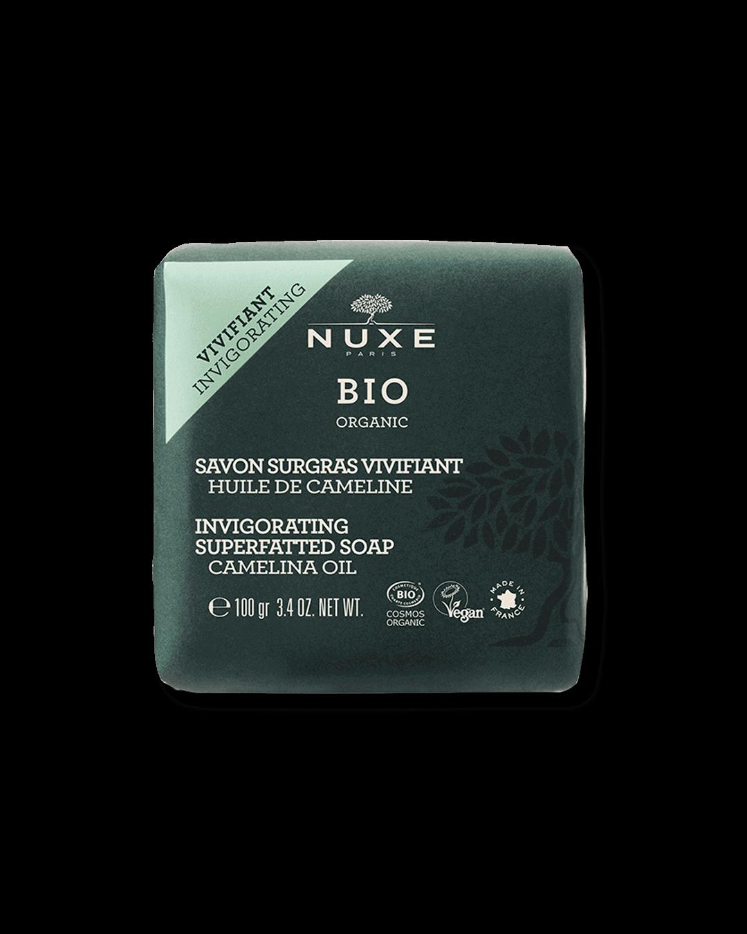 Bio povzbuzující krémové mýdlo